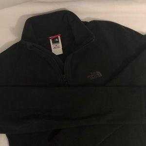 The North Face Black Fleece Zip Jacket Sweatshirt